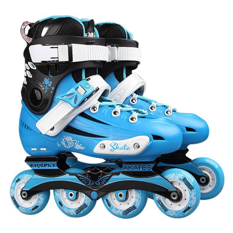 Professional Skates chaussures de fantaisie simple rangée patin à roulettes pour adultes roller Universal Rink pour les hommes et les femmes
