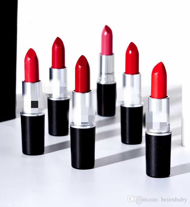 Wholesale Free ! HOT NEW M Makeup Lipsticks Retro Luster Frost Sexy Matte Lipstick 3g 25 colors lipstick with english name