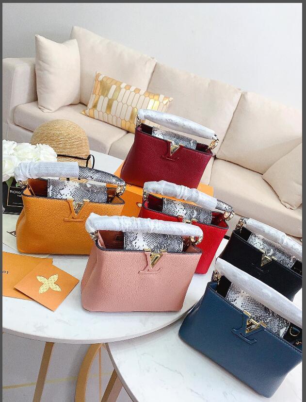 2020 haute qualité nouvelles dames de vente chaud dames sac à main classique nouveau sac de sac de messager d'affaires des femmes de sac à bandoulière sauvage classique
