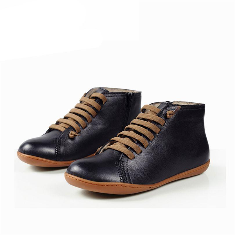 Горячие Sale-Men плоские зимние сапоги из овчины Туфли мужские на лодыжке удобные ботинки мужские Botas мягкие босоножки для ботинок Phenkang