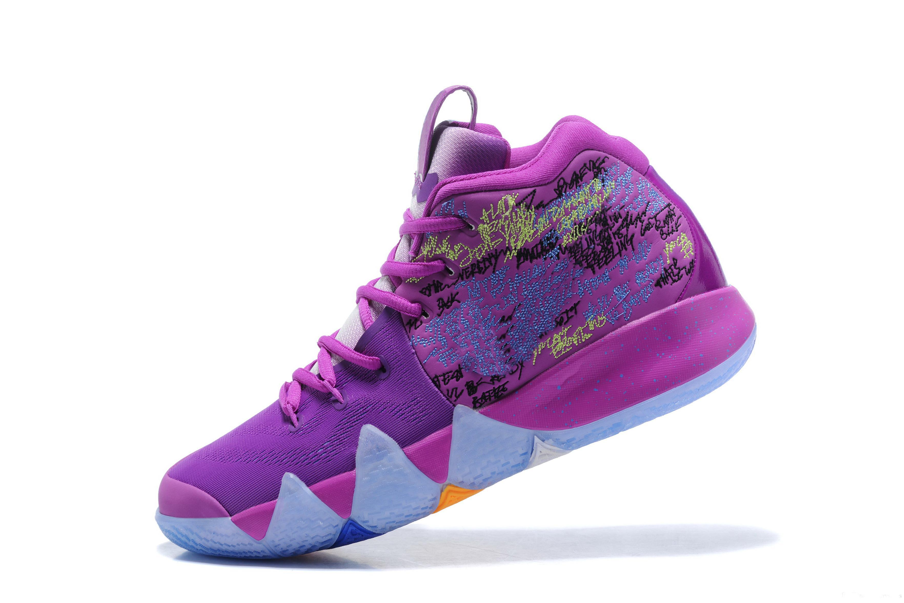 2019 New Confetti Kids Shoes Kyrie 4