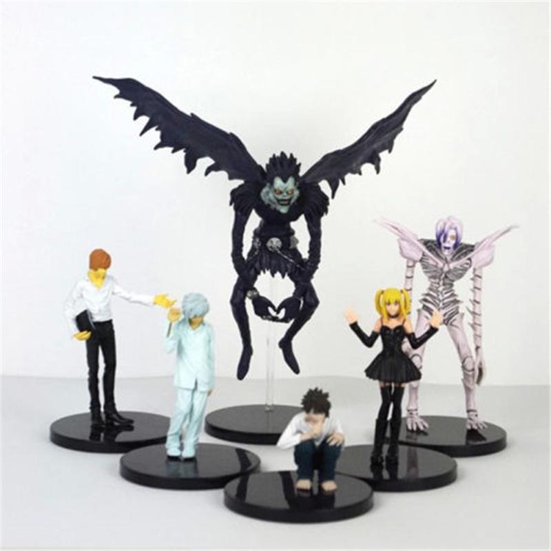 "Anime Death Note Ryuuku 15cm/6"" PVC Action Figures Model Movie Collection Toy Dolls 1pc ids Gift"