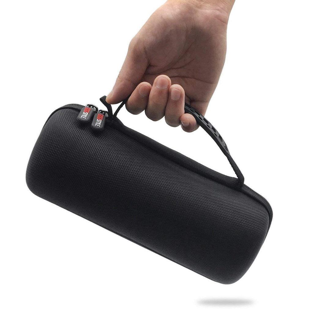 Black EVA Carrying Hard Case for Bose SoundLink Revolve Travel Protective Pouch