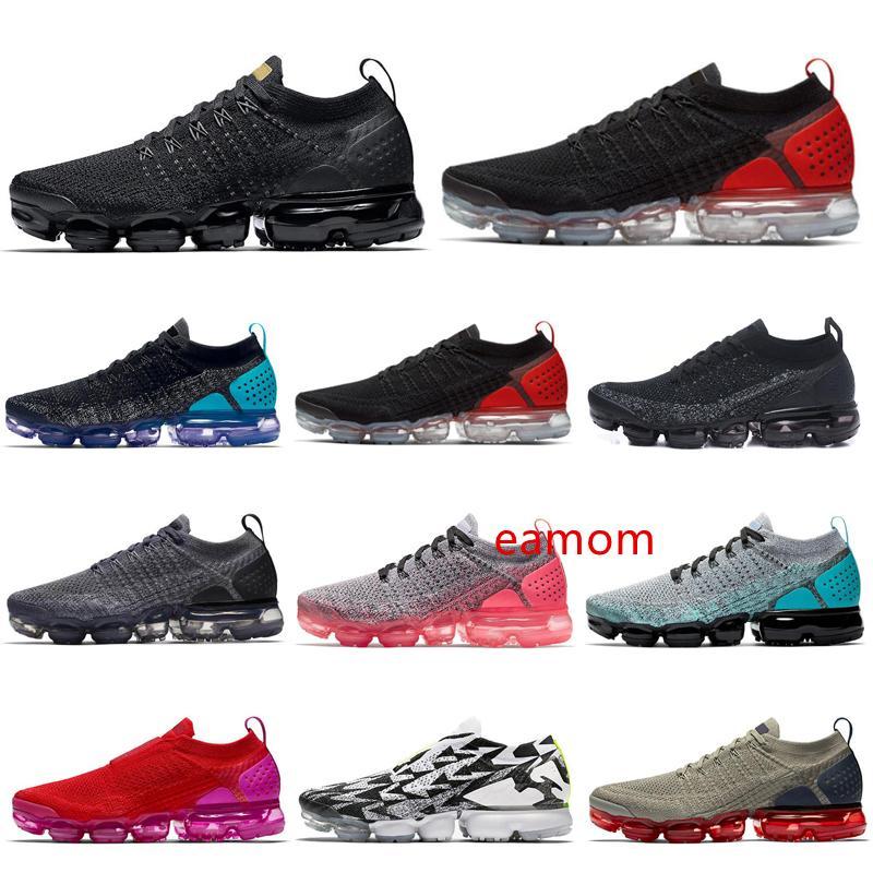 vapores, además de tn de punto 2 zapatos corrientes de ACRÓNIMO MOC triples púrpura mujeres voltios hombre negro de oro blanco entrenador deportivo de moda zapatillas de deporte del envío libre