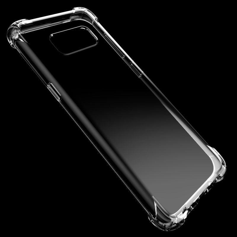 Silicone Case à prova de choque Limpar macio para Samsung Galaxy Note 8 J3 J5 J7 A5 A5 A7 2017 2016 Primeiro-S9 mais S8 S7 S6 borda antidetonante