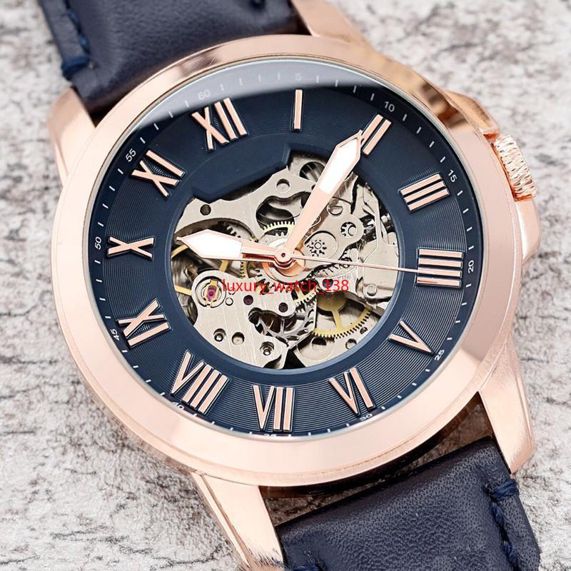 Super luxury USA orologio automatico da uomo Fo cronografo tourbillon scheletro orologio meccanico vuoto monaco relogio firenze oak u orologio da polso Y