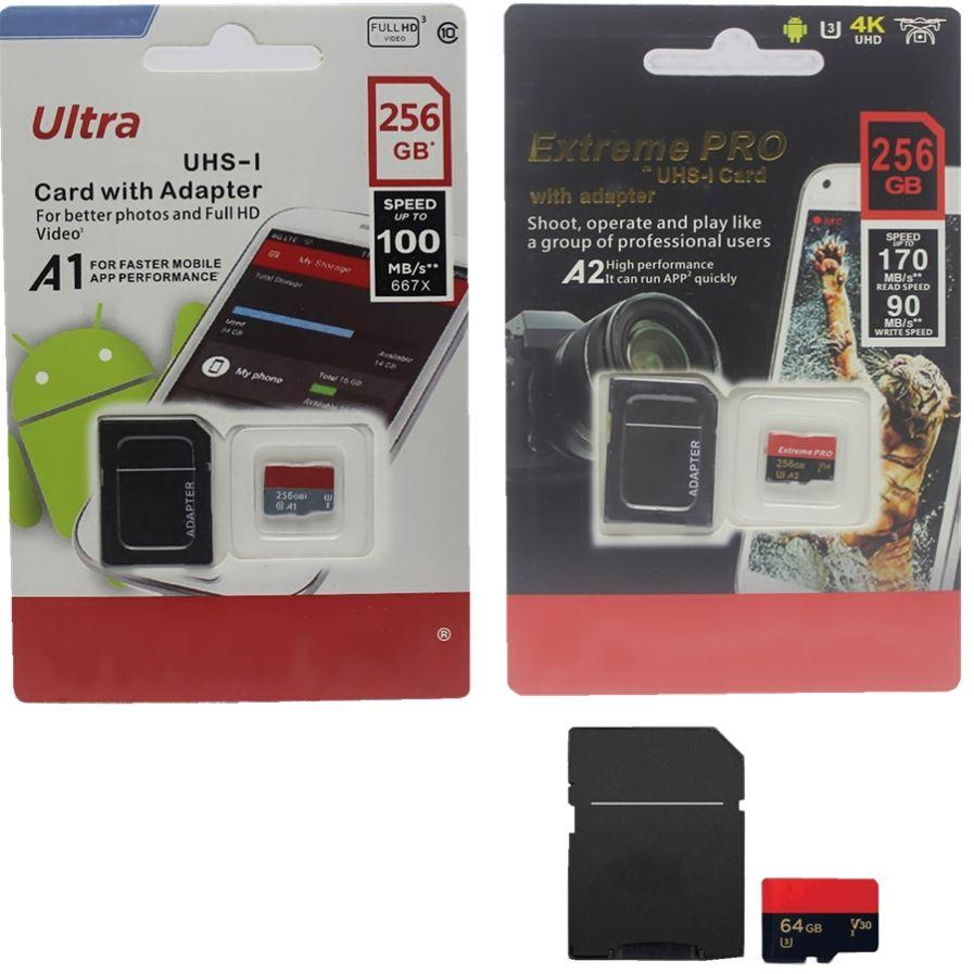 2020 новое качество продажи последний класс продукта 10 32GB 64GB 128GB 256GB Micro SD Card Adapter подарок бесплатная розничная блистерная упаковка 50 шт.