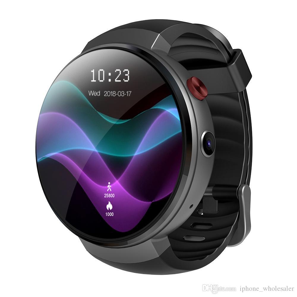 LEM7 4G LTE Akıllı İzle Android 7.0 Akıllı Saatler Ile GPS WIFI OTA MTK6737 1 GB RAM 16 GB ROM Giyilebilir Cihazlar IOS Android Için Bilezik