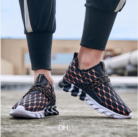 2019 Ultra luz Homens Outdoor Air Mesh sapatos respirável sapatos casuais para os sapatos Plus Size Homens Jogging treinamento