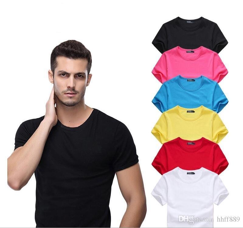 Новый 2020 Летний большой маленький конь крокодил футболку хорошего качества плюс размер Мужчины Хлопок Круглый шеи короткий рукав Polo Повседневная рубашка размер S-6XL