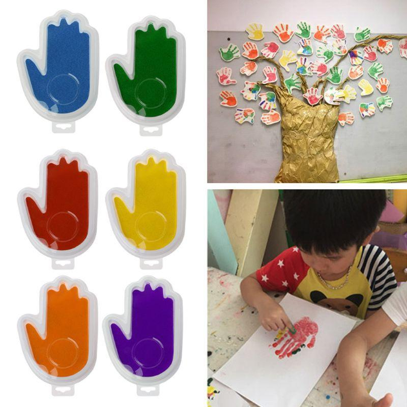 Brand Inkless Wipe Baby Kids Hand And Foot Print Kit High Quality Functional