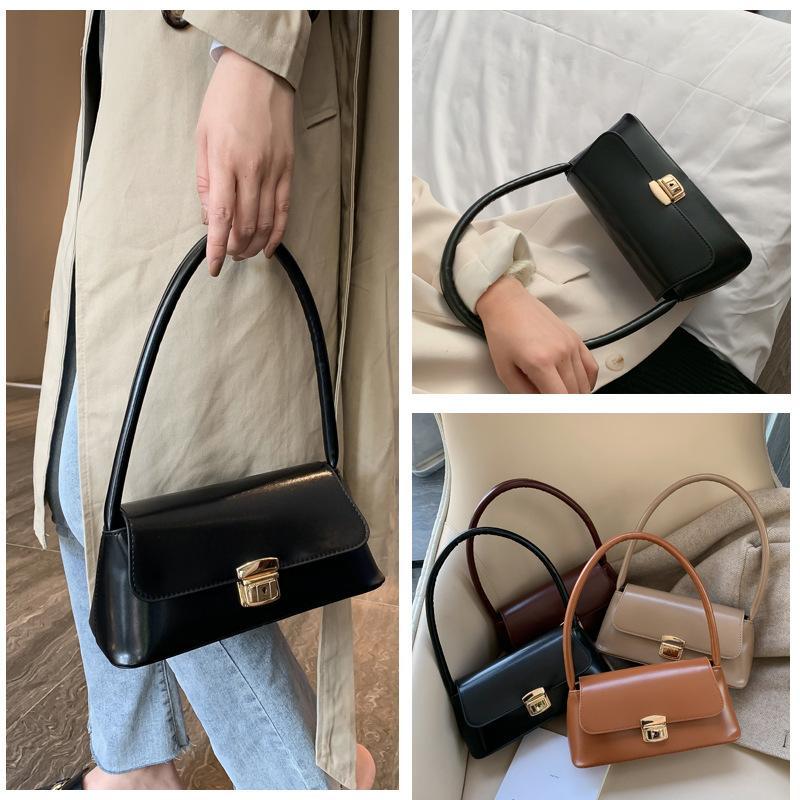 2020 novos retro moda senhoras bolsa Messenger Bag pequeno saco quadrado ombro