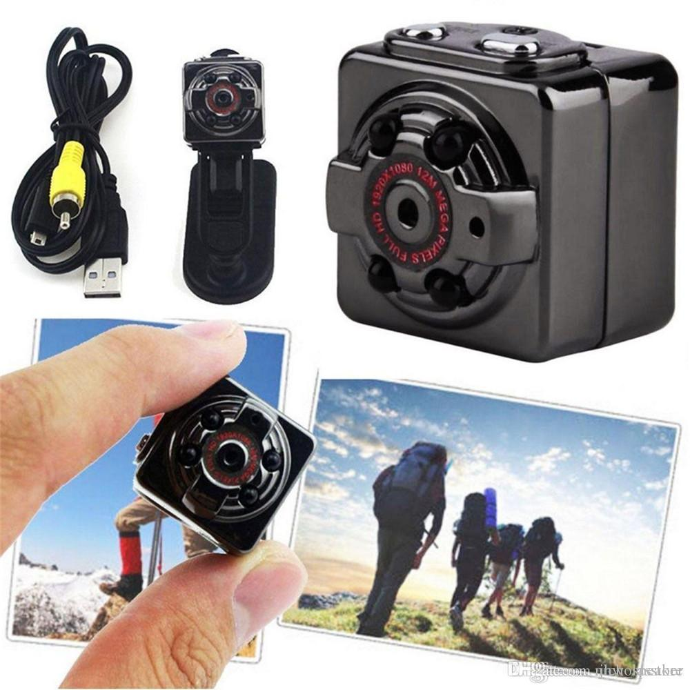 SQ8 كاميرا مايكرو البسيطة DV كاميرا ليلة عمل رؤية رقمية الرياضة DV لاسلكي صغير فيديو صوت التلفزيون خارج كاميرا HD 1080P 720P أيضا SQ11 SQ23