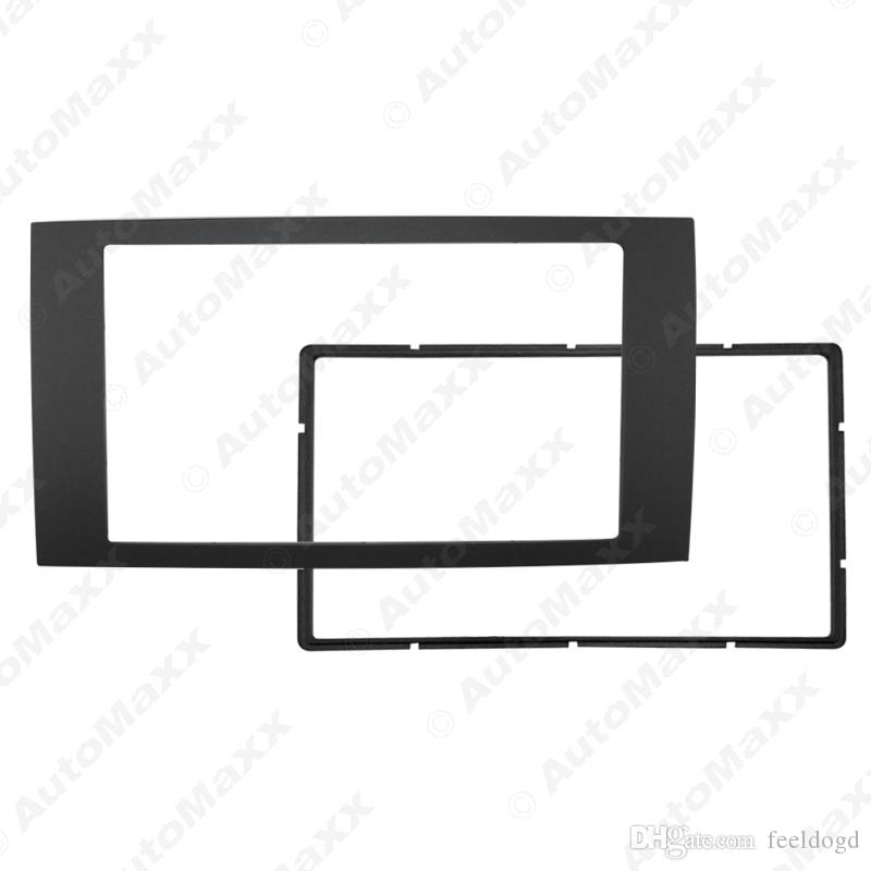 Car 2DIN Refitting Frame DVD Panel Dash Kit Fascia Radio Audio Frame for 06 Ford Focus Transit #1693