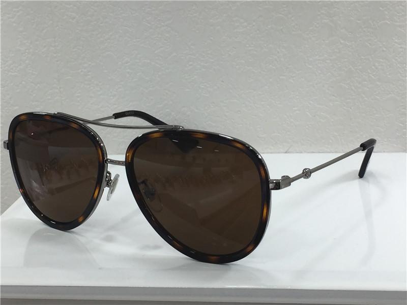 luxo- mulheres 0062S Havana Pilot SunglassesSonnenbrille occhiali da sole Designer Luxury Sunglasses Óculos de sol caixa Nova WIB