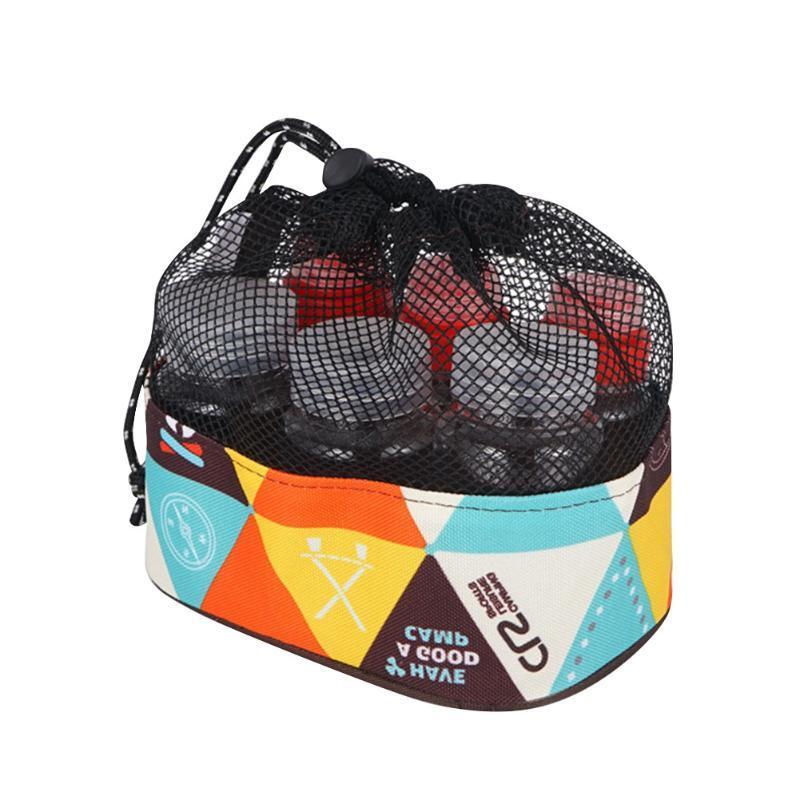 6pcs Portable Condiments Organisateur transparent Jar Spice Camping Outdoor Assaisonnement Bouteille Set pique-nique avec sac de rangement réutilisable