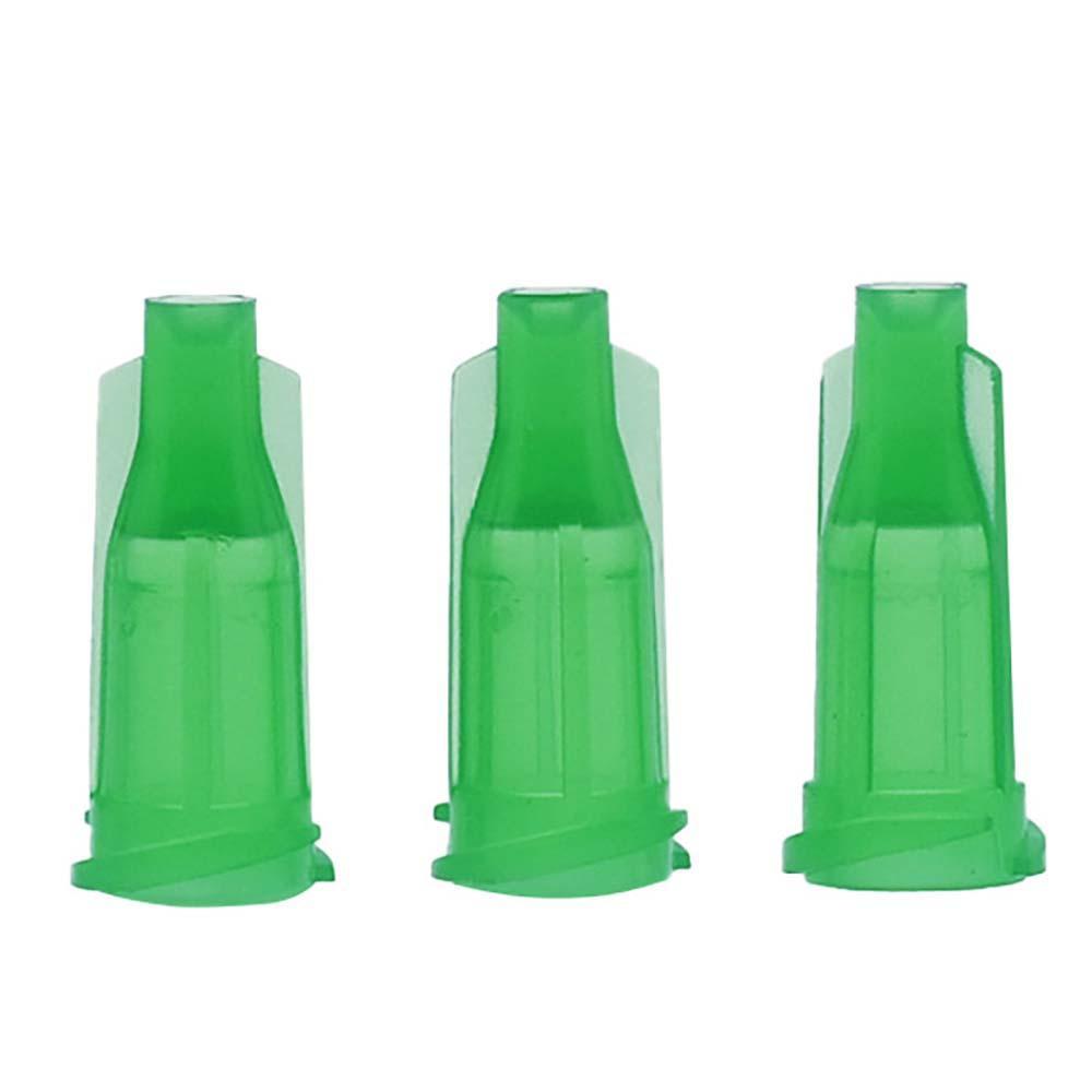 Wholesale-High-Quality-green cap Luer Lock-Syringe-Assortment-Caps-1000-PCS-tip-cap