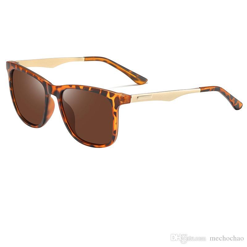 New High Quality Polarized Frame Gold Sunglasses And Men's Fashion Vintage Sunglasses Lens Sport Brand Sunglasses Pilot Designer Women' Clcj