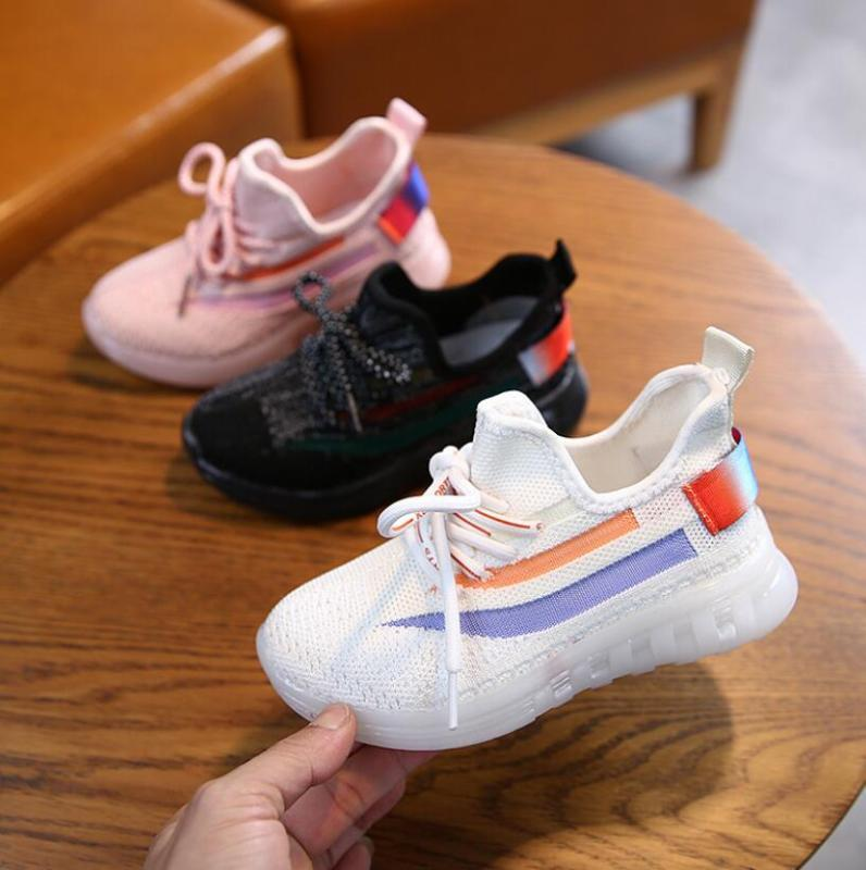 Toddler Baby Boys Girls Mesh Shoes Solid Kids Sport Shoes for Children Breathable Casual Running Baby Sneakers Kid Sandals