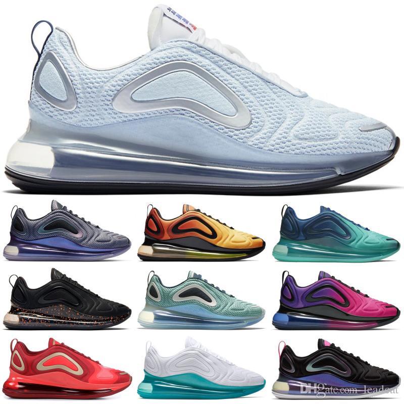 صناعة جامعة الأحمر الأزرق للرجال أحذية أسود النيون الشرائط الهراء الساخن الحمم الثقيلة الحساسة أولي يكون صحيحا الساخن الحمم الرياضة المدربين