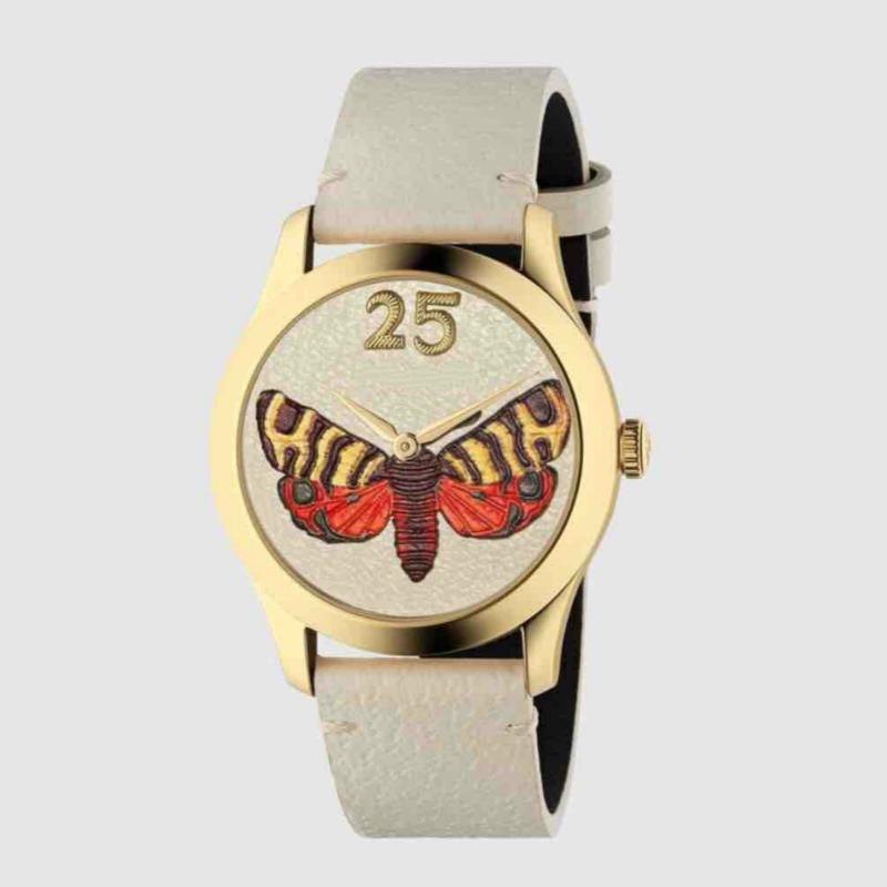 Ducci lüks İzle unisex saatler marka kuvars İzle G-zamansız yeni moda Kelebek Arı su geçirmez izle toptan