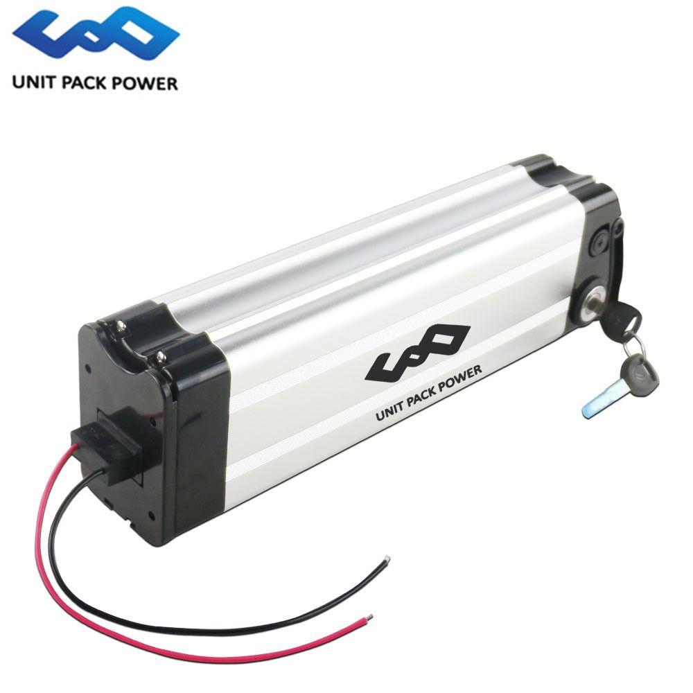 UE US Pas De Taxe 24v 20Ah argent poisson li ion batterie 24v 20ah batterie au lithium pour 250W vélo électrique avec chargeur gratuit