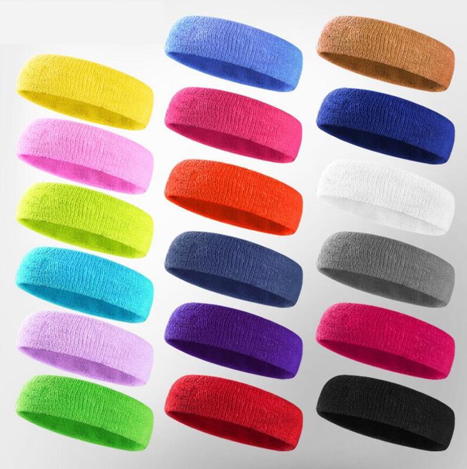 Headwear Headband Purple Pattern Head Scarf Wrap Sweatband Sport Headscarves For Men Women