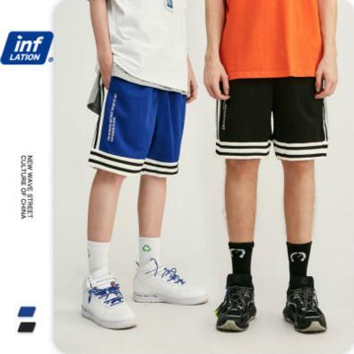 مصمم رجالي Sportshorts صيف جديد الرجال السراويل منقوشة شارع في الهواء الطلق ملابس سروال فضفاض البيسبول جيرسي فاخرة بيع السروال الساخن