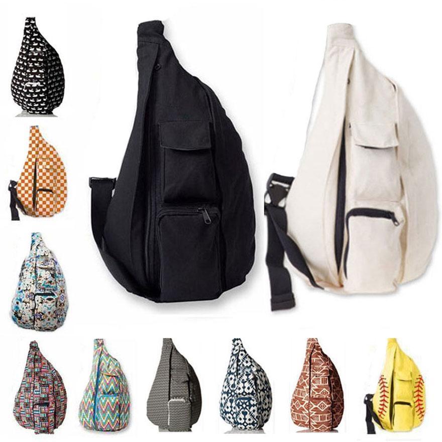 Unisex Canvas Envío Bolsas ajustables Bolsas deportivas Fanny Outdoor Shoulder Packs Strap Travel Playa Pecho gratis DHL Pack Vievt