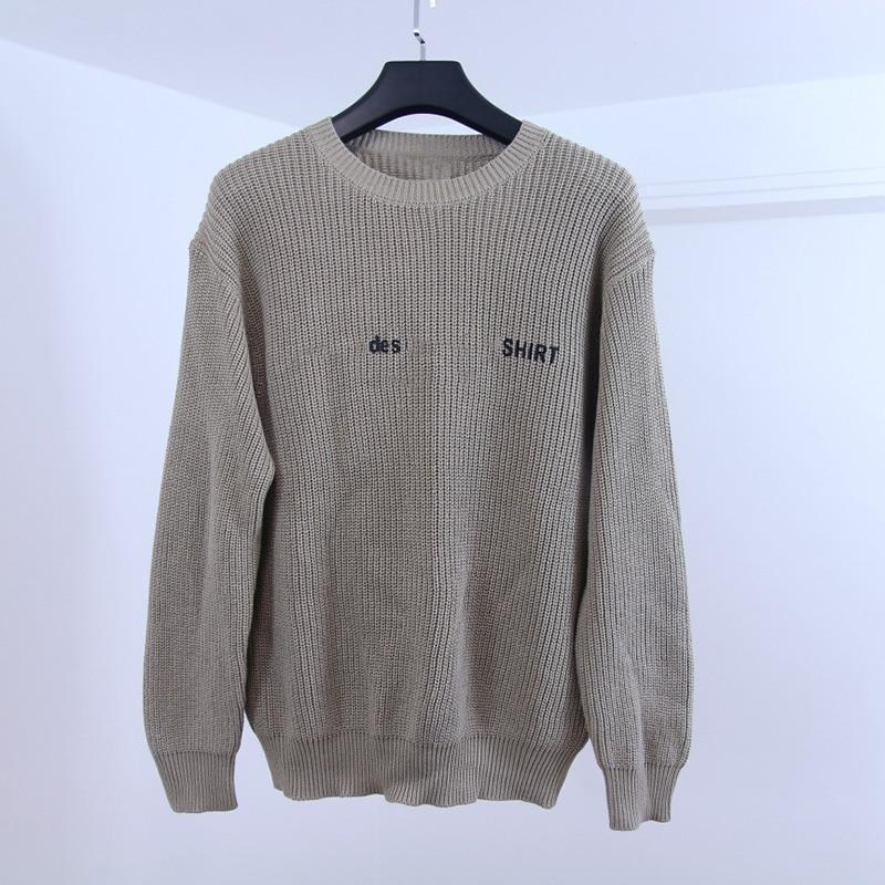 Moda-Designer suéteres famosa marca de alta calidad de los suéteres con capucha de la moda mujeres de los hombres de cuello redondo de manga larga de 3 colores del tamaño S-XL