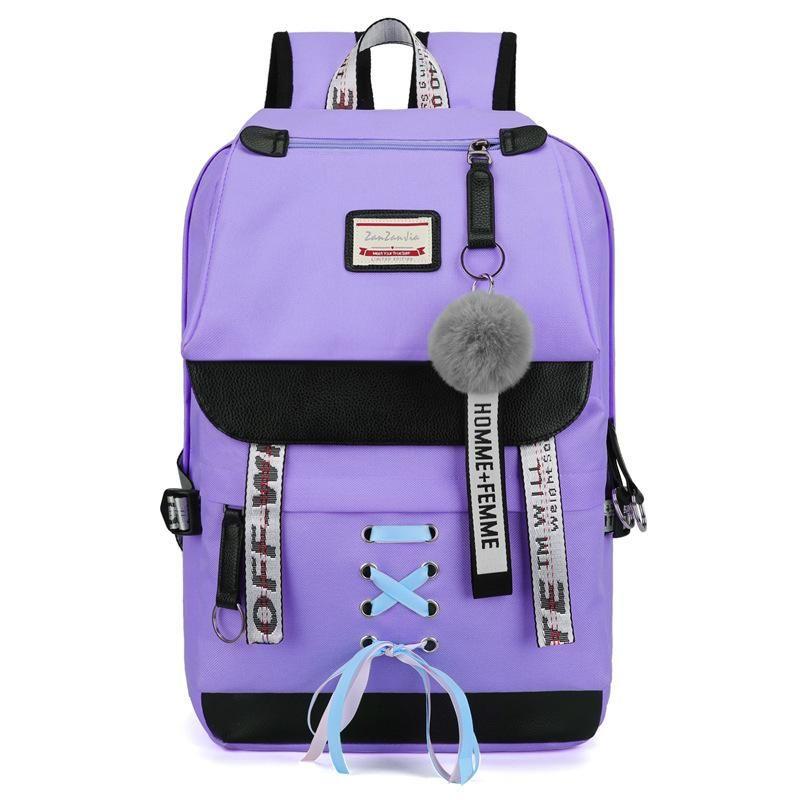 حقائب مدرسية USB تهمة الكمبيوتر على ظهره حقيبة السفر حقيبة الأعمال للسفر في الهواء الطلق الظهر كمبيوتر محمول كبير حقيبة التسوق الساخنة