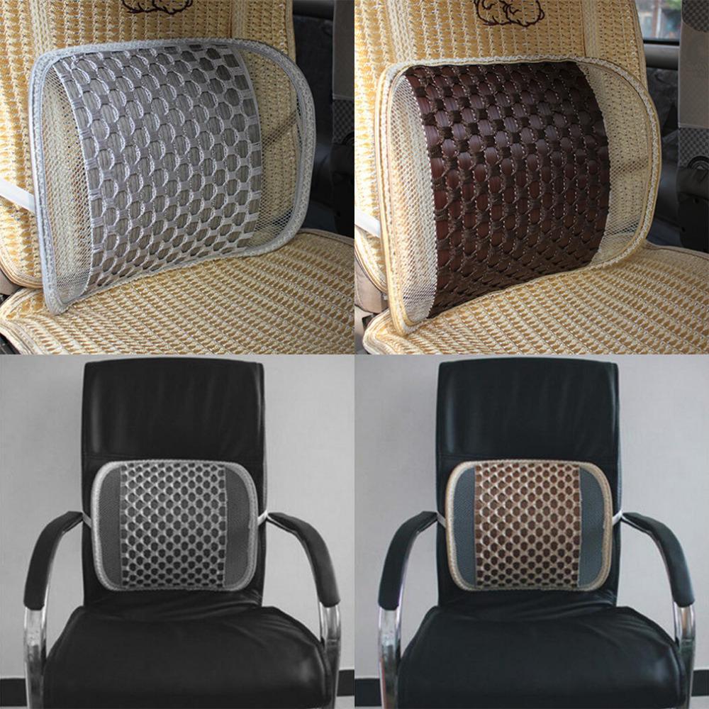 Voiture Coussin lombaire Mat Massage du dos taille de soutien voiture Accueil bureau chaud vente automobile Seat Coussin Seat Coussin