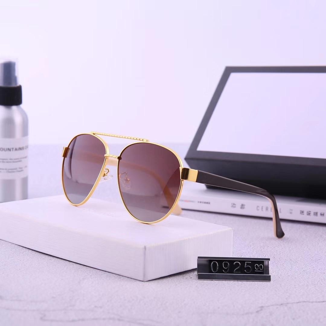 Al por mayor nuevo diseñador de moda las gafas de sol 0925 marco de piloto estilo popular del verano gafas de protección UV400 de primera calidad