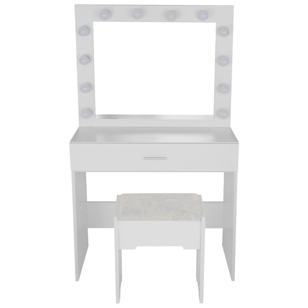 2020 Vanity Set With Lighted Mirror Cushioned Stool Dressing Table Bedroom Vanity Makeup Table Drawer Vanity Table Set 2020 New Hot From Depin 341 71 Dhgate Com