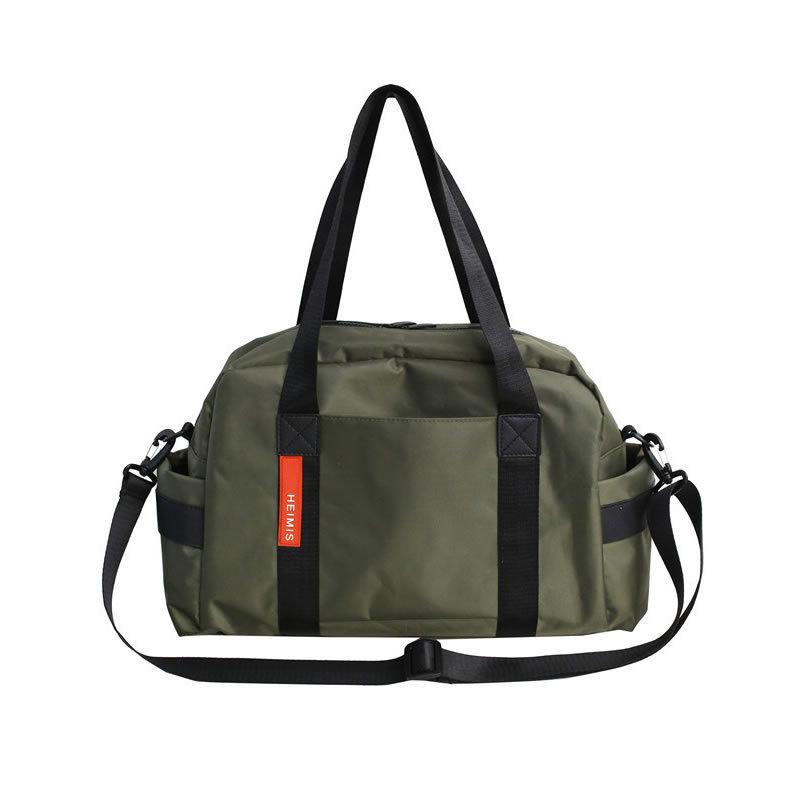 Korean men's and women's hand luggage bag tide fitness bag small travel short distance travel folding