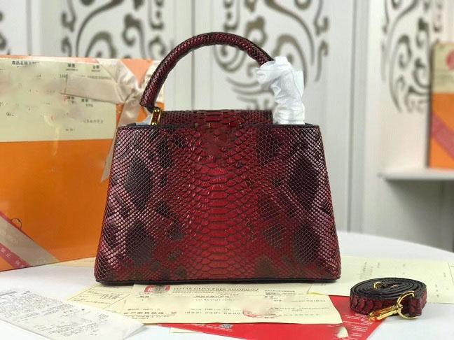 2019 neue Python-Haut Art und Weise Damen berühmte Designer Messenger Tasche, Designer-Handtasche Schultertasche Boston Tasche, gute Qualität, günstiger Preis