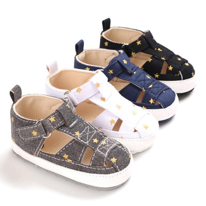 طفل الرضيع طفل رضيع فتاة الصيف أحذية لينة السرير 0-6 6-12 12-18 شهر الأطفال الرضع بنين بنات أحذية الأولى ووكر الطفل