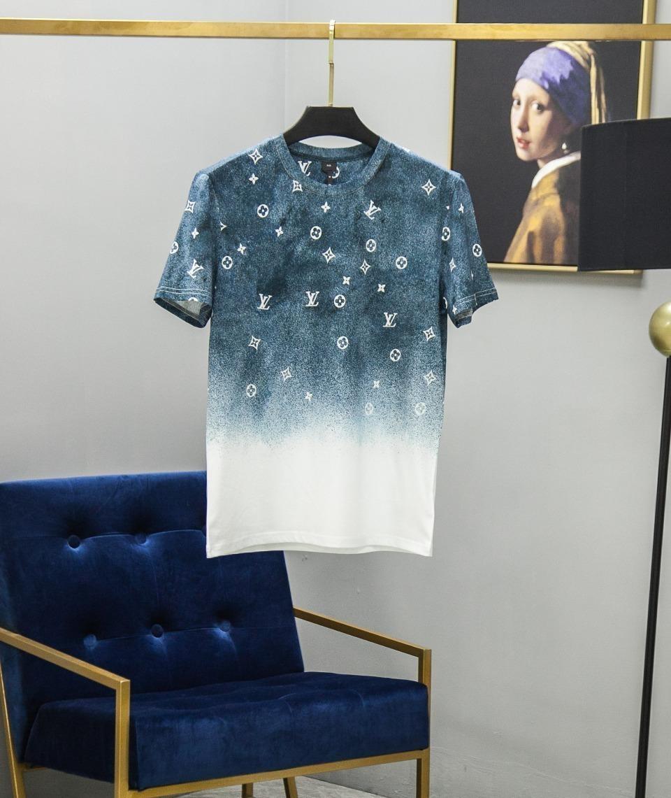 Frühling und Sommer neue hochwertige Männer kurze Ärmel und weise beiläufige T-Shirt A2CHTKWK