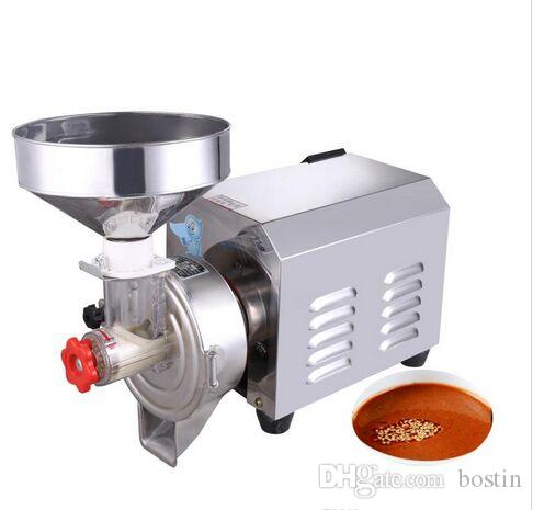 Factory commercial peanut butter grinder machine stainless steel 2200W sesame paste grinding making for food