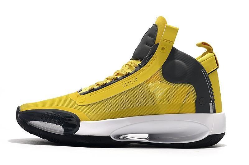 2020 TOP Jumpman XXXIV 34 Bleu Void Chaussures de basket-ball 34s Zoom Eclipse Bred Ambre PE vert Hausse Glow Argent Métallisé Hommes Chaussures de sport
