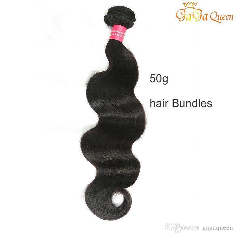 50g Single Hair Sample Brazilian Body Wave 1 Bundle Body Wave Human Hair Extensions Brazilian Hair Weave Bundle