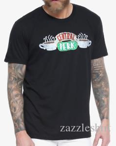 Amigos TV Show 90S Sitcom Central Perk LOGO Camiseta NOVO Oficial Authentic