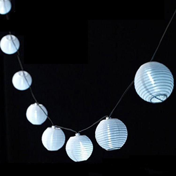 New Hanging Livre blanc lanternes d'éclairage RGBY blanc chaud bricolage mariage Décorations chinois lanternes lumière ronde modélisation Whloesale Halloween