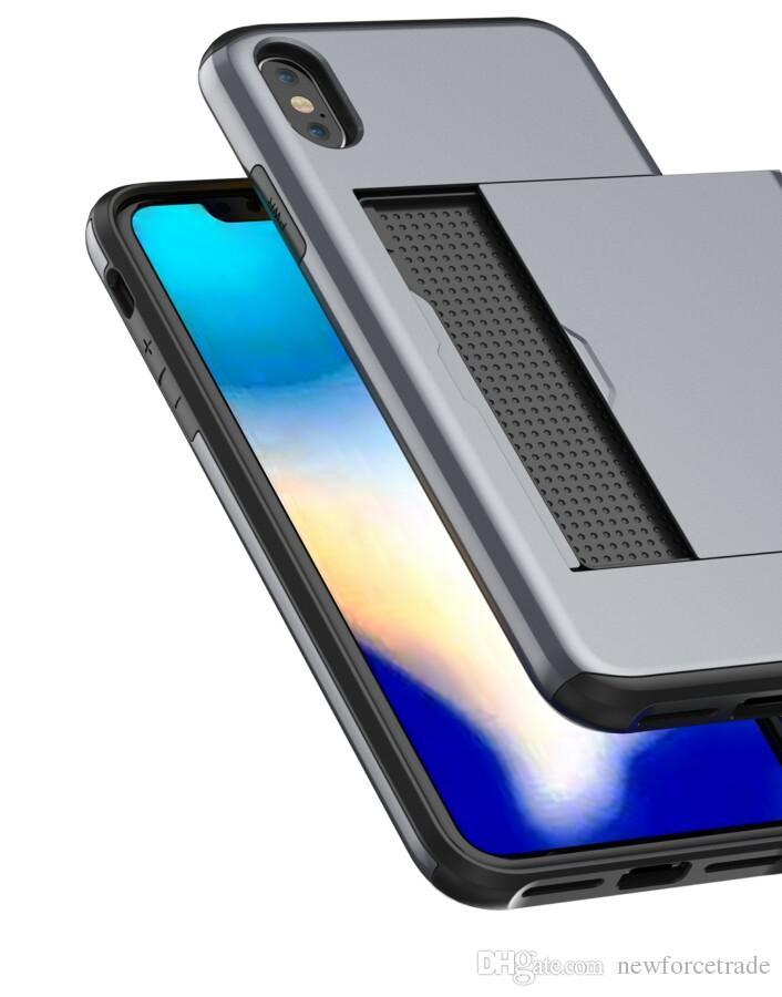 Handyschutzhülle Visitenkarte Anti Drop Iphonexs Handyhülle Kreditkartenschlitz Iphonexr Schutzhülle Creative Iphone8p Handyhülle Arktis Handyhüllen