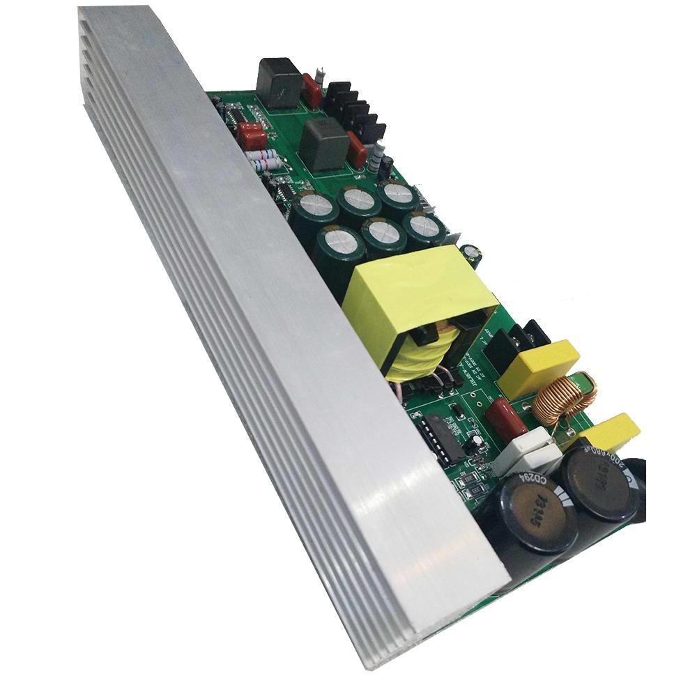 Freeshipping 1000W Power Audio Amplifier Class D 500W+500W streo channel Digital Sound Amplifier With Switch Power Supply T1412