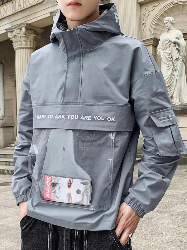 Повседневная куртка бомбер мужская мода личность ветрозащитный уличный мужской уличная одежда хип-хоп куртка высокое качество ветровка EE9JK