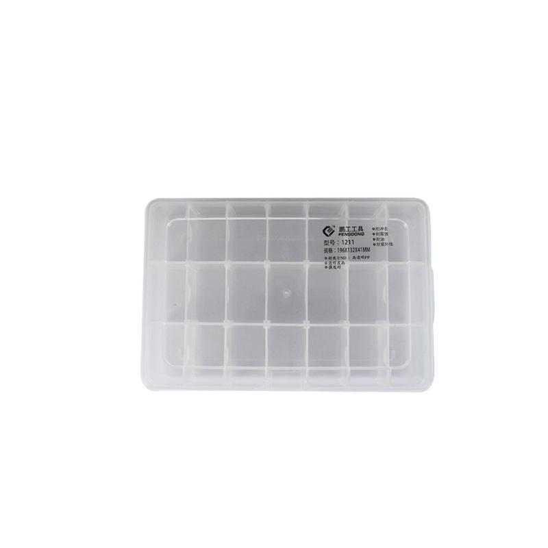 Componentes Ferramenta de plástico caixa transparente caixa de ferramentas eletrônicas Screw Caixa de armazenamento de plástico peças eletrônicas caixas de ferramentas