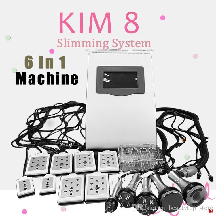 6 IN 1 Ultrasound Cavitation Machine 40K Ultrasonic Cavitation RF Vaccum Slimming Body Weight Skin care machine