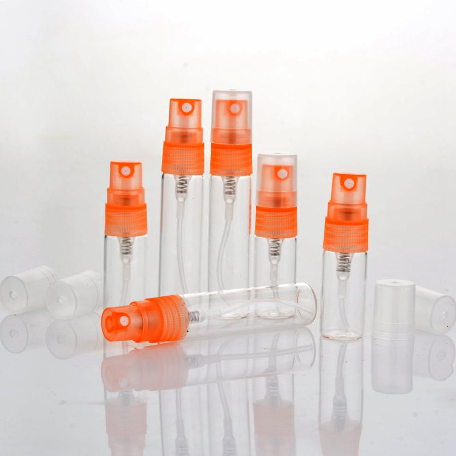 10ml en plastique Pulvérisateur Bouteille de parfum Voyage échantillon Vaporiser bouteille vide Portable Perfum Outils Pulvérisateur Conteneurs cosmétiques RRA1920