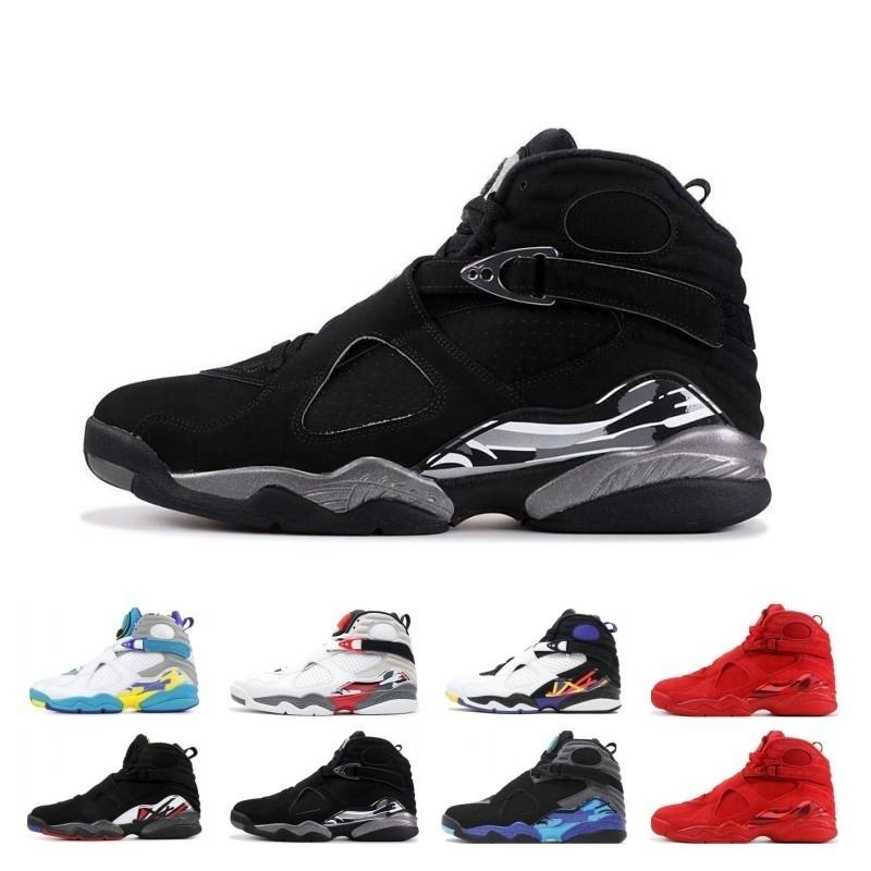 3m Wholesale Reflective Bugs Bunny 8 8s Mens Basketball Shoes Valentines Day Aqua White Black Chrome 3peat Playoff Trainer Sports Sneaker
